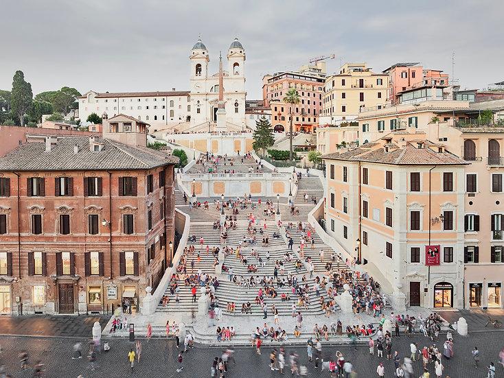 Spanish Steps, Rome, Italy, 2017