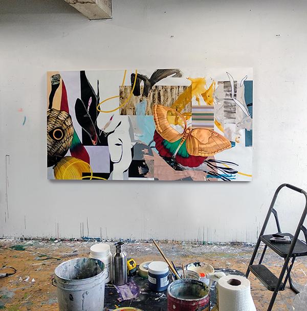 Fiona Ackerman's studio