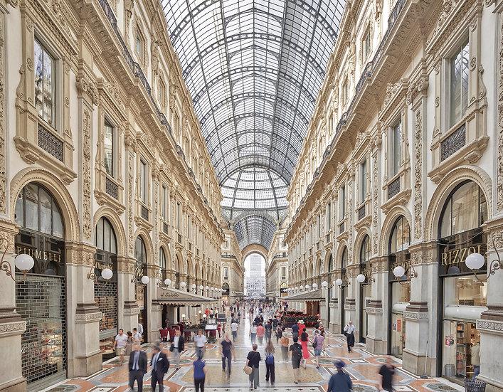 Galleria Vittorio Emanuele II , Milan, Italy, 2018