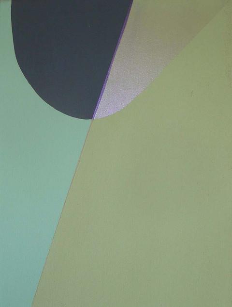 green between