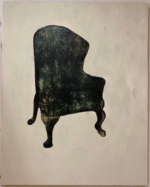 Chair_Oil Paint_Cold Wax Medium_60x48_20