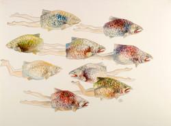 6.PM AntroFish Caught in Painting