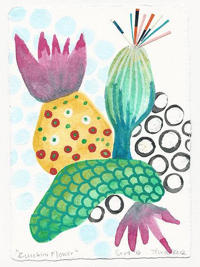 "Lauren Walker ""Zucchini Flower"""