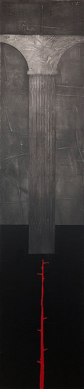 Growth Rings_AcryliconCanvas_72x16_2021.