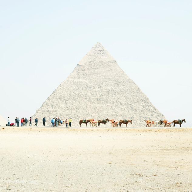 Khufu with Horses, Giza, Egypt, 2018