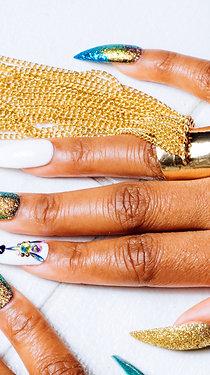 Casata Tassel Fringe Gold Ring