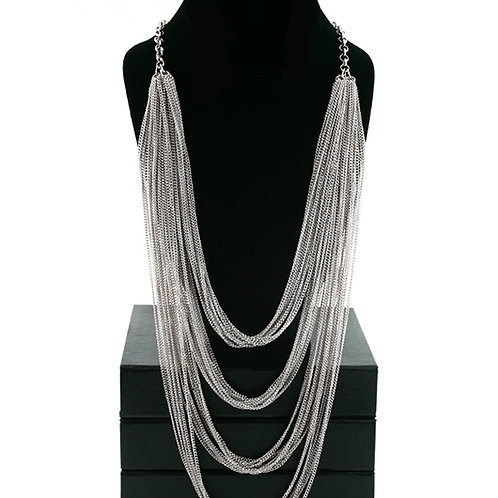 Silver Catena Necklace