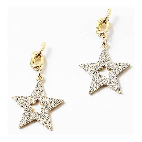 Star Light Charm Earrings