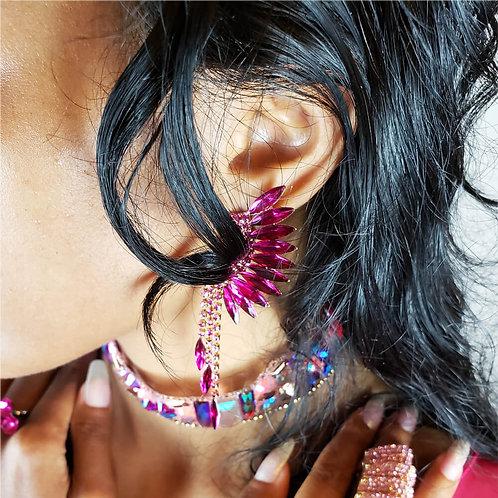 Glass Wings Earrings