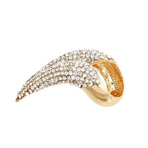 Lance Pave Statement Ring