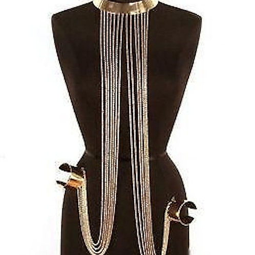 Fili Body Chain & Cuffs