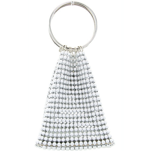 Chic Beaded Ring Tote