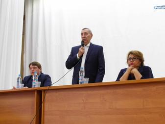 Встрече с ректором БашГУ