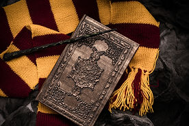 Subjects of the school of magic. Scarf,