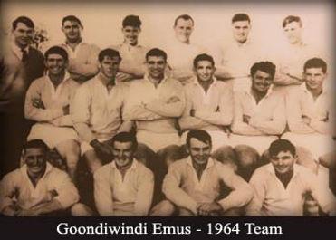 Goondiwindi Emus - 1964 Team