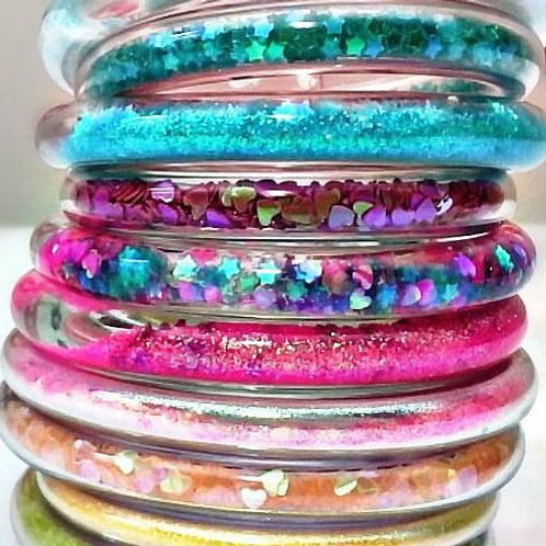 Glitter Water Bracelets CRAFT KIT