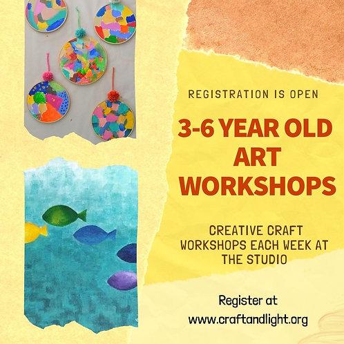3-6 Year Old Workshops