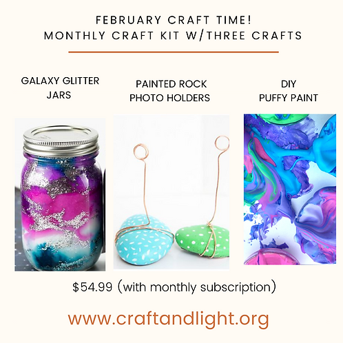 MONTHLY CRAFT KIT SUBSCRIPTION