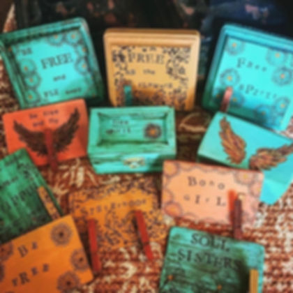 Rustic Wooden Memory Box