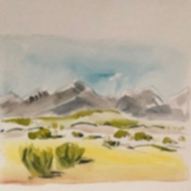 Intro to Watercolor: Landscapes