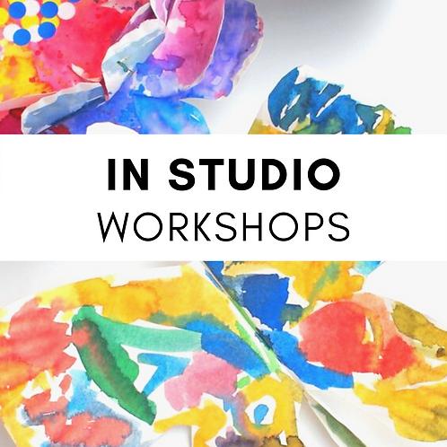 Tk-2nd Grade Spring In- Studio Workshops