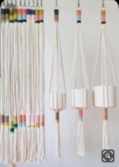 Macrame Plant Hanger : Virtual Workshop