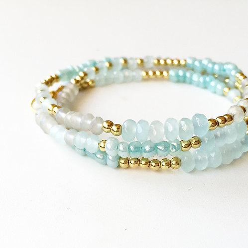 Day 11: Glass Bead Bracelets
