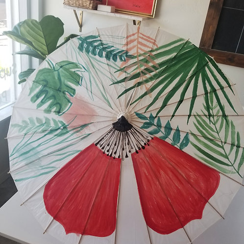 Painting Parasols Craft Kit