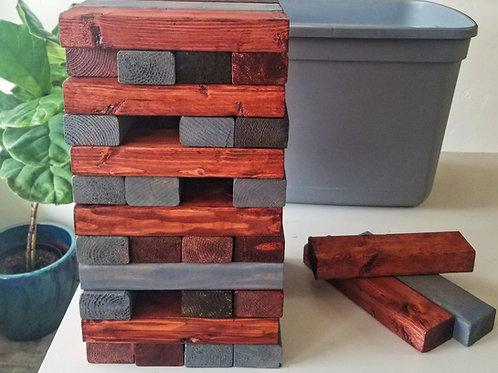 """CUSTOM: Giant Wood Block """"Jenga""""  Kit"""