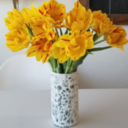 DIY Mosaic Vases: Virtual Workshop