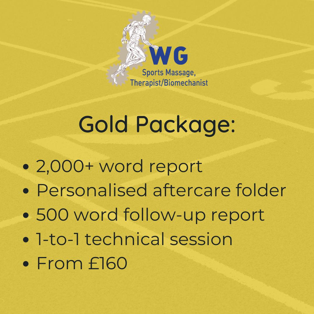 Gait Analysis - Gold Package
