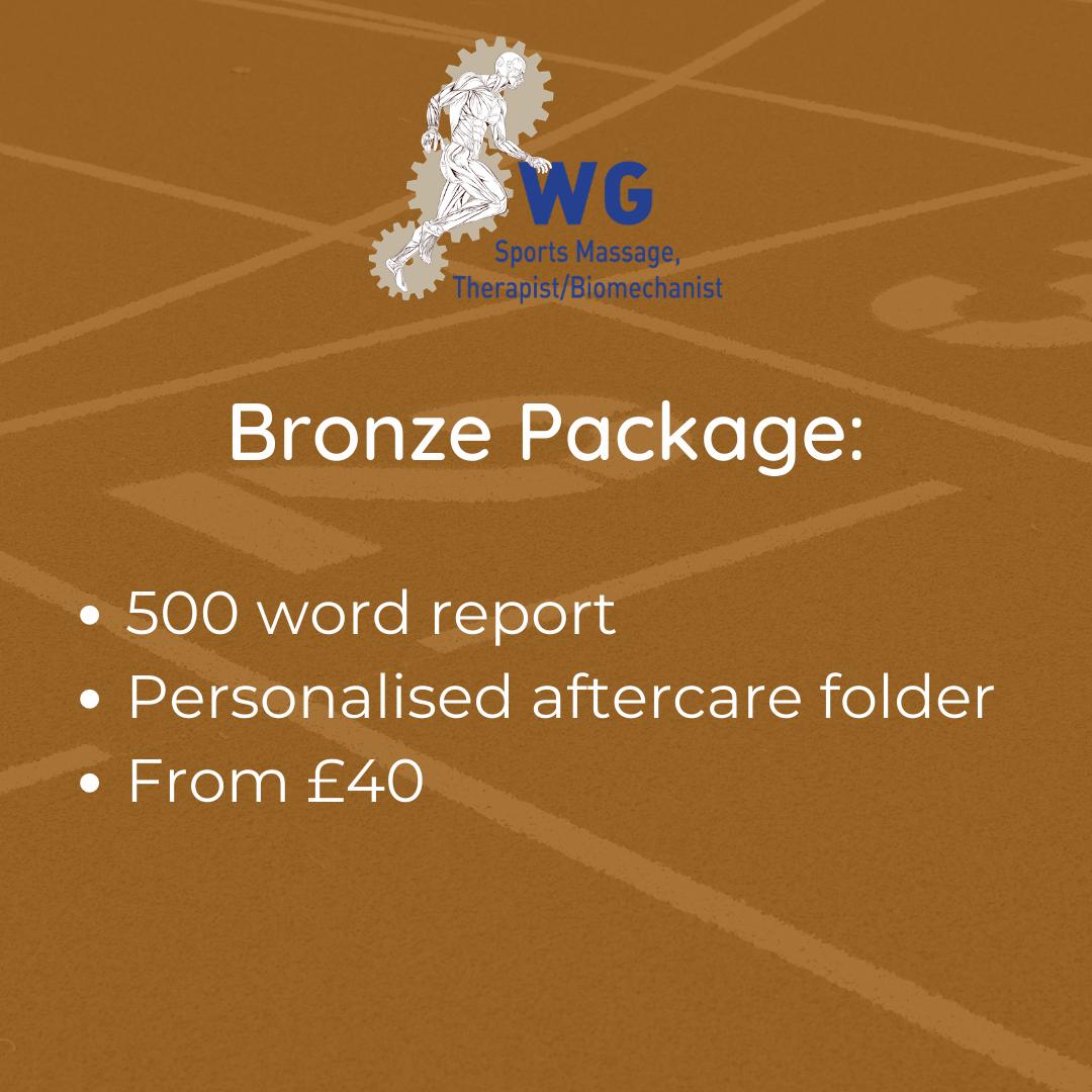 Gait Analysis - Bronze Package