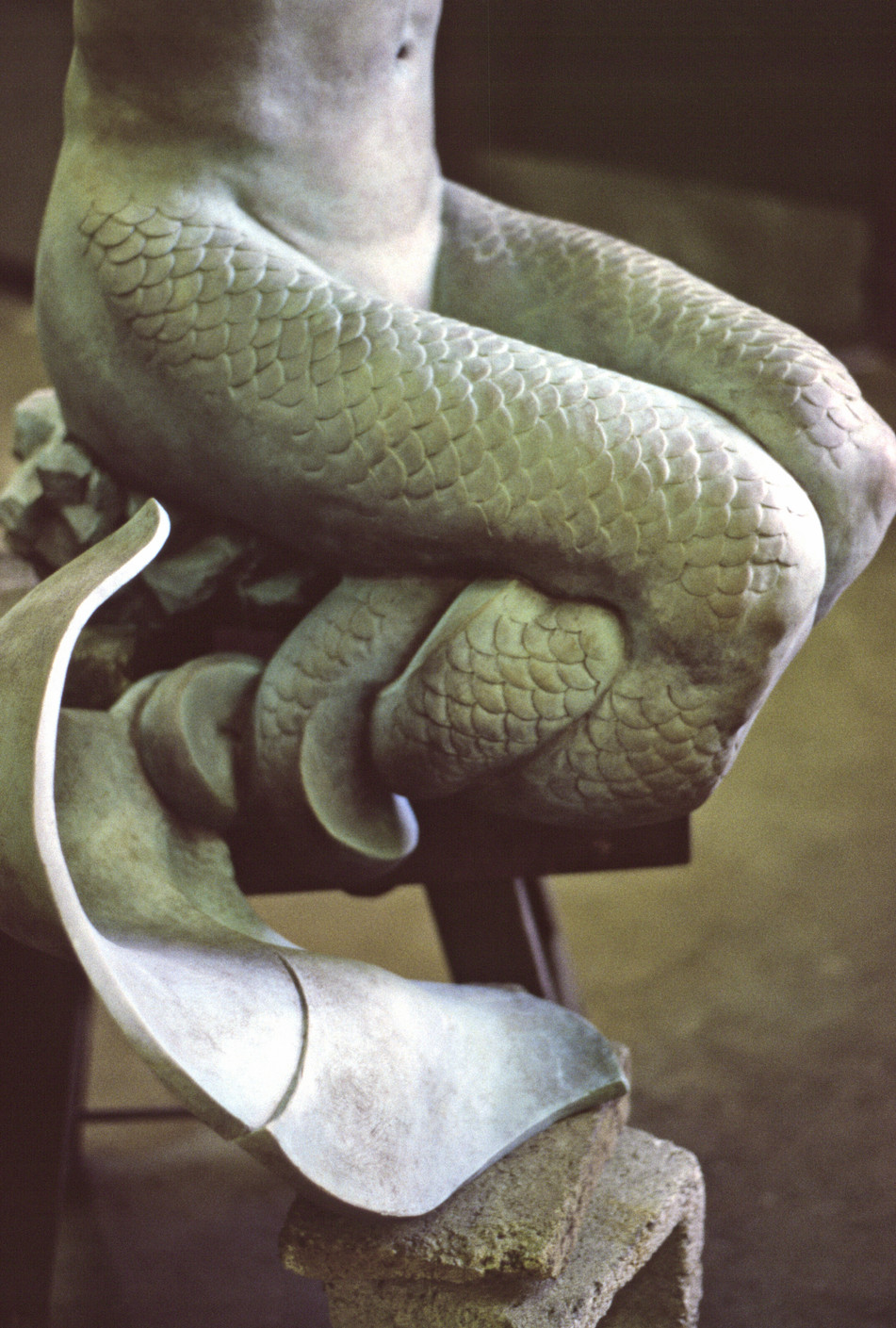 Merman (detail)