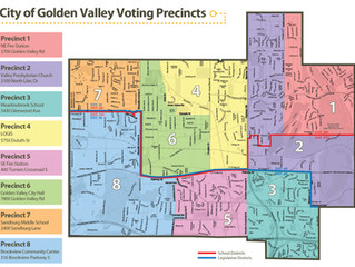 Live in Golden Valley? Find your Senate District, Congressional District and precinct.