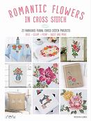 Romantic Flowers İn Cross Stitch.webp