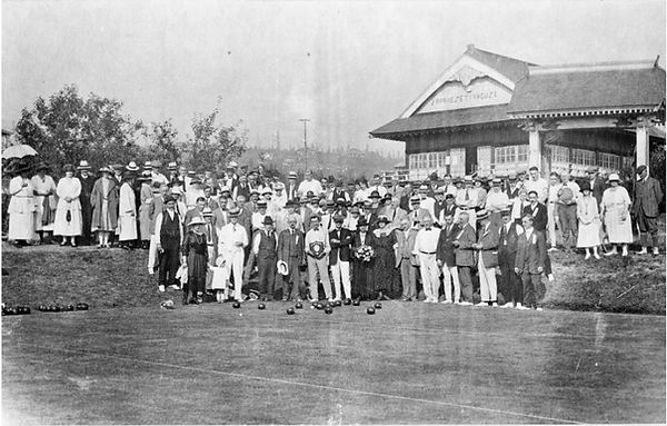 The North Vancouver Lawn Bowling Club 1923