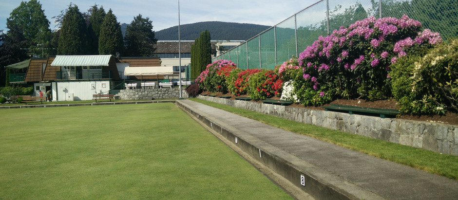 Welcome to the new North Vancouver Lawnbowling Club News.
