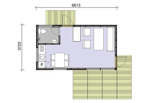 Simplest Attefallshus 25-01G