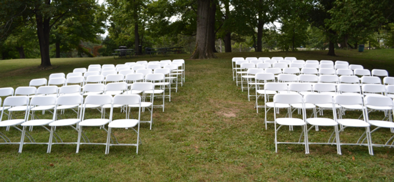 White Folding Chair All City Party Rents