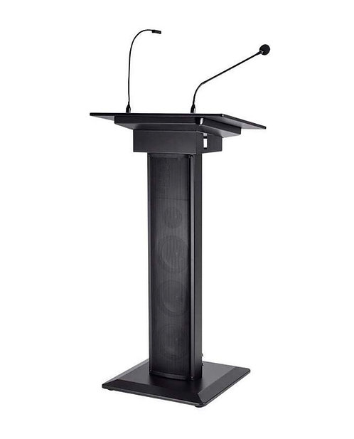 Podium-LED-Microphone/Speakers