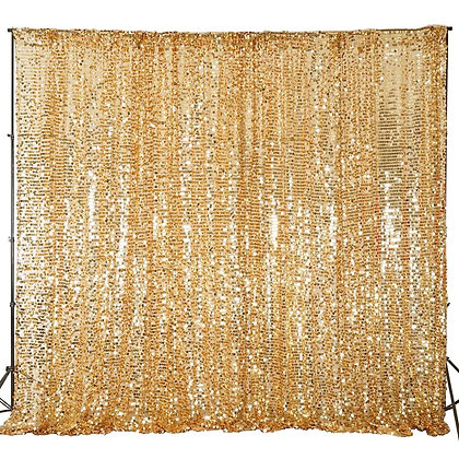 10H x 20W Sequin Backdrop Curtain
