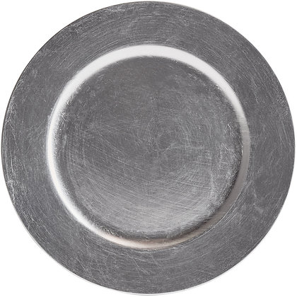 """Charger Plate 13"""" Silver"""