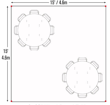 Round Table Package (15x15)