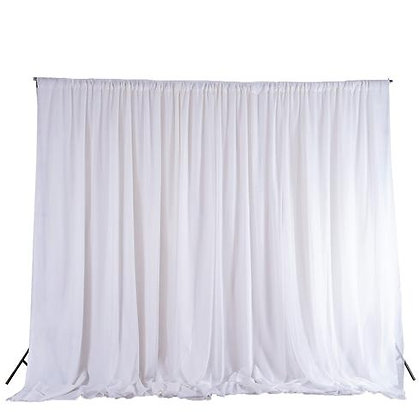 10H x 20W Backdrop Standard Curtain