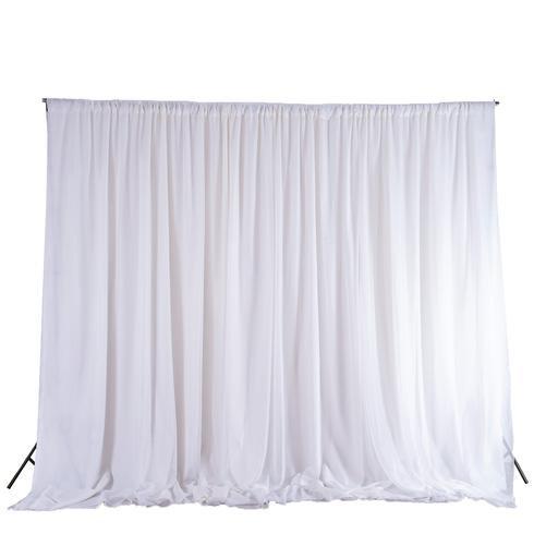10H x 20W Backdrop Standard Curtain