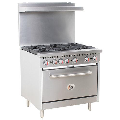 Propane Oven 6 Burner