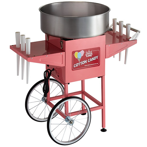 Cotton Candy with Cart and supplies for 50 people.