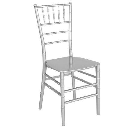 Silver Chiavari Chair with cushion