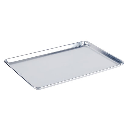 "Full Size 19 Gauge 18"" x 26"" Aluminum Bun Pan / Sheet Pan"