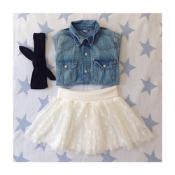 Instagram - ⭐️⭐️outfit of the day⭐️⭐️🎀 -Camicia jeans #hm- #mediahora #mediahor